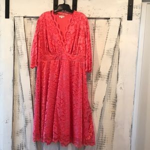 WORN ONCE | LIKE NEW PLUS SIZE Kiyonna Lace Dress,